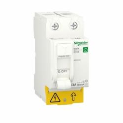 Устройство защитного отключения (УЗО)  RESI9 Schneider Electric 63 A, 300 мA, 2P, тип А