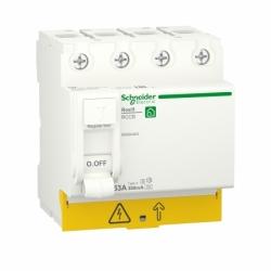 Устройство защитного отключения (УЗО)  RESI9 Schneider Electric 63 A, 300 мA, 4P, тип А