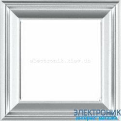 Рамка 1-пост цт. алюминий Jung Eco Profi Deco