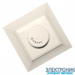 Neoline светорегулятор 1000Вт кремовый