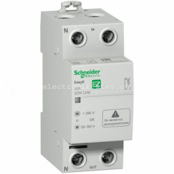 Реле напряжения Easy9 1P+N 40А / 230V EZ9C1240 Schneider Electric