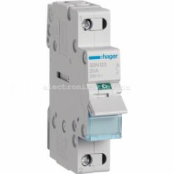 Выключатель нагрузки Hager 1-полюсный, 25 А