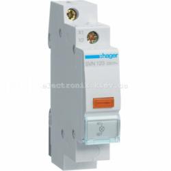 Индикатор LED желтый, Hager