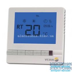Терморегулятор для теплого пола Veria Control T45 программируемый