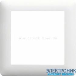 Рамка 1-однократная  Hager Lumina2 белая