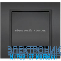 Механизм Выключатель EL-BI Zena Silverline Дымчатый