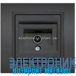 Механизм Розетка телевизионная EL-BI Zena Silverline Дымчатый