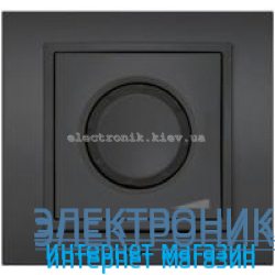 Механизм Светорегулятор EL-BI Zena Silverline Дымчатый