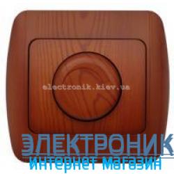 Светорегулятор 800 Вт вишня EL-BI Zirve Woodline