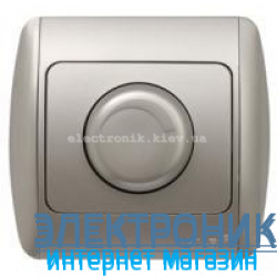 Светорегулятор 800 Вт серый металлик EL-BI Zirve Silverline