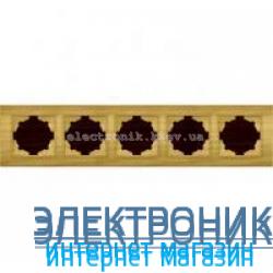 Рамка 5-я EL-BI Zena Woodline Береза