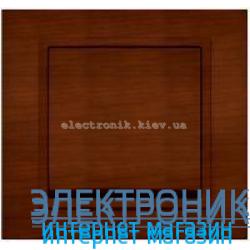 Механизм Выключатель EL-BI Zena Woodline Темный орех