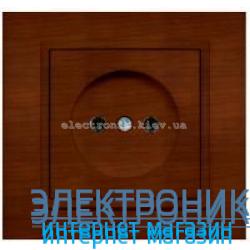 Механизм Розетка EL-BI Zena Woodline Темный орех