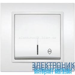 Механизм Выключатель проходной с подсветкой EL-BI Zena