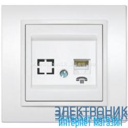 Механизм Розетка телефонная EL-BI Zena