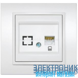 Механизм Розетка компьютерная EL-BI Zena
