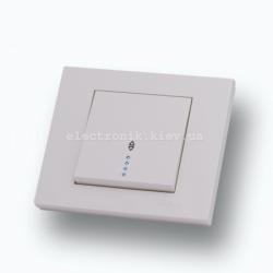 Выключатель проходной с подсветкой Grano крем
