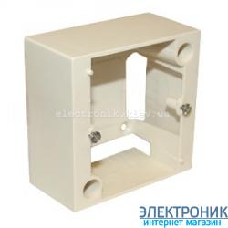 Коробка для накладного монтажа розеток 20А, Legrand, слоновая кость