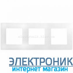 Рамка на 3 поста, белый - Legrand Etika