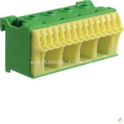 Блок PE-клемм, количество единиц деления - 2,5 ширина — 75мм Hager