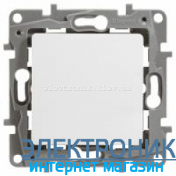 Выключатель проходной 1-клавишный, белый - Legrand Etika