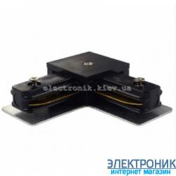 Соеденитель угловой черный ZL4006/Z-Light