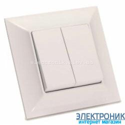 Neoline выключатель 2-кл. кремовый