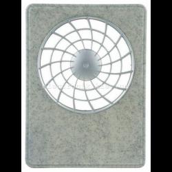 Решетка вентиляторная РВ 100 iFan меланж