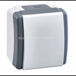 Выключатель одноклавишный, Mono electric, OCTANS IP54
