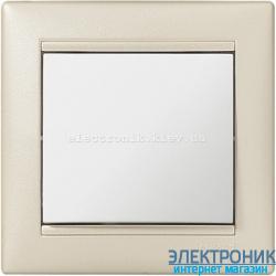 Рамка однопостовая Legrand Valena (жемчужный)