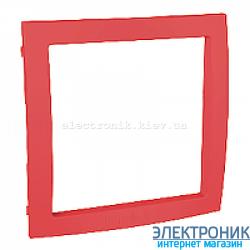 Вставка декоративная для рамок Schneider (Шнайдер) Unica Colors Красный