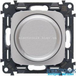 Светорегулятор (диммер) поворотный, 300 Вт, Legrand Valena Allure (алюминий)