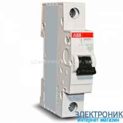 Автоматический выключатель ABB C10а 1p 6кА