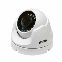 "All Format HD купольная видеокамера NEOSTAR 2MP (1920 х 1080), 25 к/с, матрица 1/3"", D-WDR, фокус 2.8-12мм, пластик"