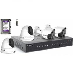 Комплект видеонаблюдения BALTER KIT 2MP (2 наружные камеры, 2 купольные камеры)