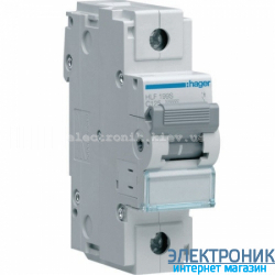Автоматический выключатель Hager HLF199S. Iн=125А, 10кА, хар-ка С