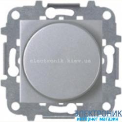 Светорегулятор повор. LEDi 2-400Вт, накал., галог. ABВ Zenit серебро