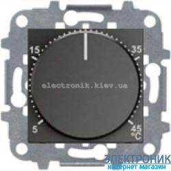 Терморегулятор теплого пола с датчиком ABВ Zenit антрацит