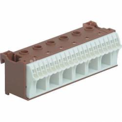 Блок фазных клемм, количество единиц деления - 3,5 ширина — 105мм Hager