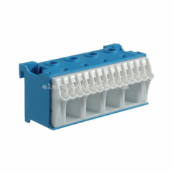 Блок N-клемм, количество единиц деления - 2,5 ширина — 75мм Hager