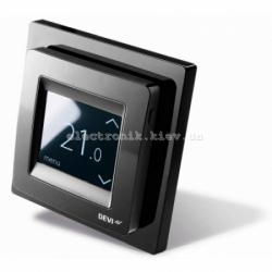 Терморегулятор для теплого пола DEVIregТМ Touch Black