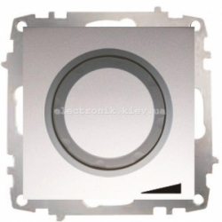 Механизм Светорегулятор EL-BI Zena Silverline Серый