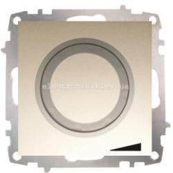Механизм Светорегулятор EL-BI Zena Silverline Титаниум