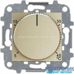 Терморегулятор теплого пола с датчиком ABВ Zenit шампань