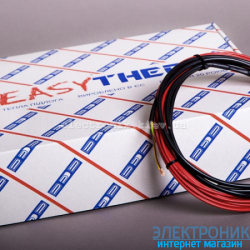 Теплый пол нагревательный кабель EASYCABLE 11,0 (длина 11м)
