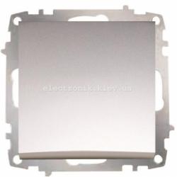 Механизм Выключатель реверсивный EL-BI Zena Silverline Серый