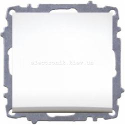 Механизм Выключатель проходной EL-BI Zena белый