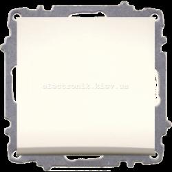 Механизм Выключатель проходной EL-BI Zena КРЕМ
