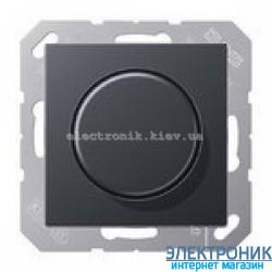 Светорегулятор поворотный для ламп накаливания 20-600Вт Eco Profi Антрацит
