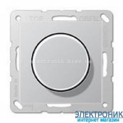 Светорегулятор поворотно-нажимной универсальный Eco Profi Алюминий